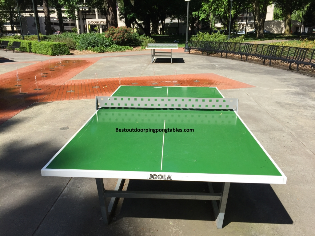 Portland Oregon Outdoor Ping Pong Tables