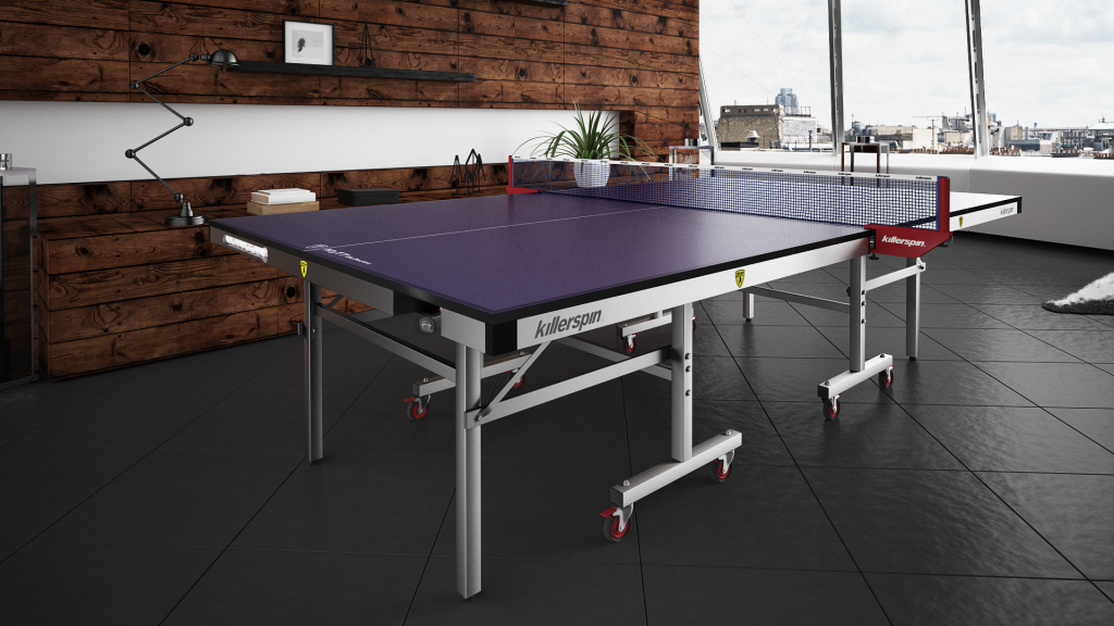 killerspin myt7 blue pocket ping pong