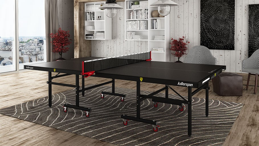 ping pong table over dining room top for turn your into