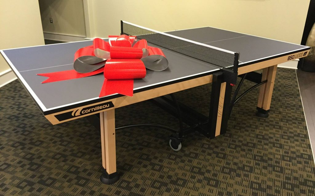 Households with children who need the table for basic play may not be the  target market Cornilleau had in mind for the Cornilleau 850 Wood Indoor. Cornilleau 850 Wood Indoor
