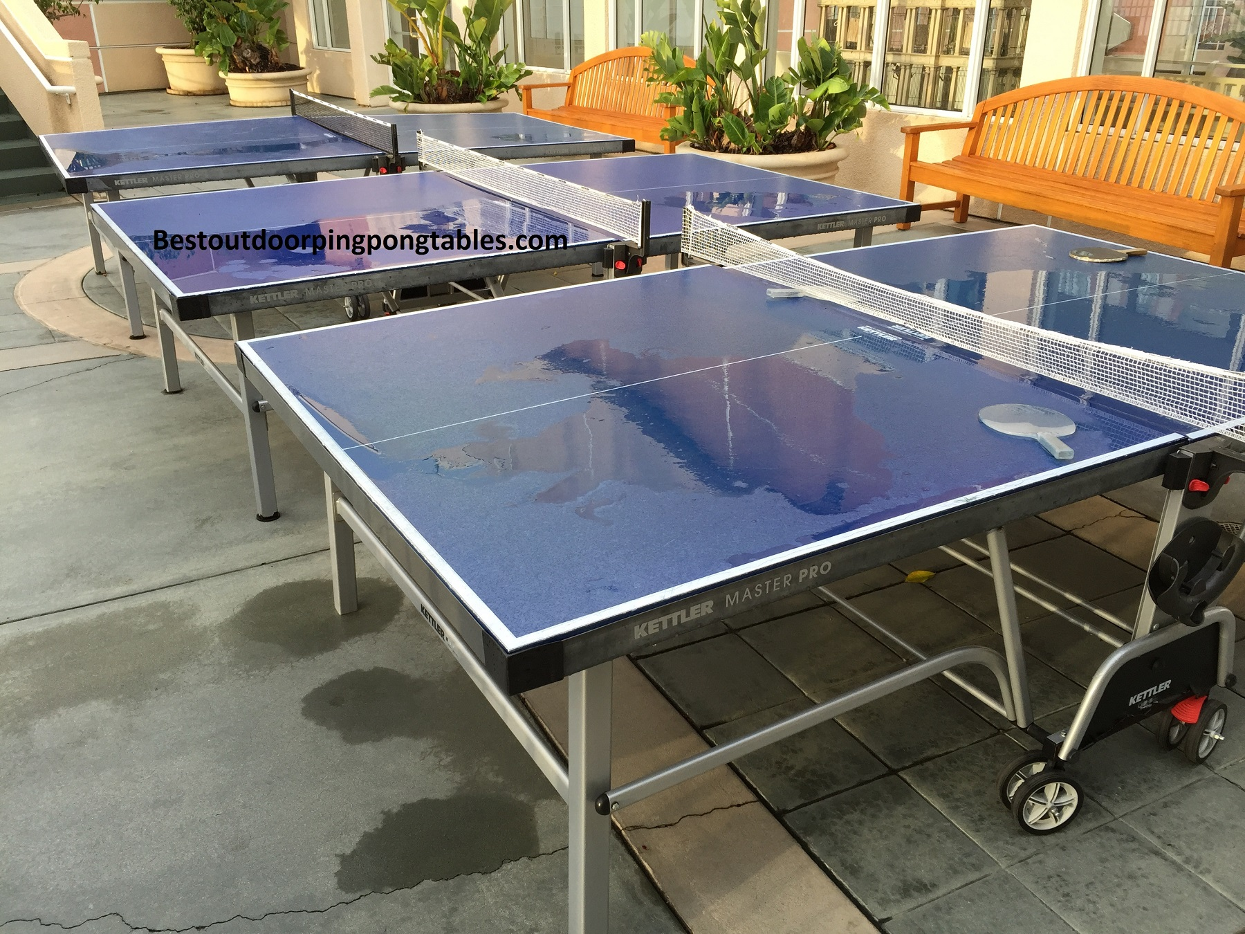 Beau Outdoor Ping Pong Tables
