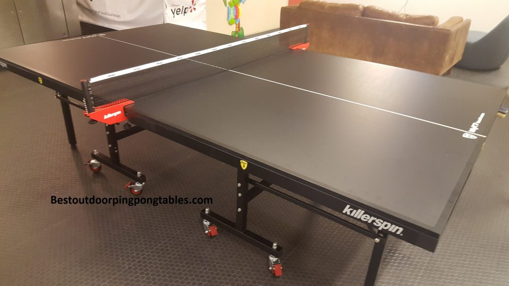 killerspin myt7 black pocket ping pong